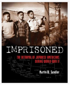 Imprisoned: The Betrayal of Japanese Americans During World War II by Martin W. Sandler  - moving and memorable, stunning design