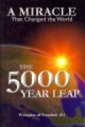 5000 Year Leap : The 28 Great Ideas That Changed the World