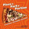 Piece = Part = Portion : Fractions = Decimals = Percents