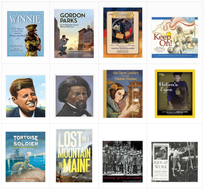 Check out these 12 biographies