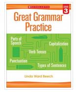 Great Grammar Practice: Grade 3